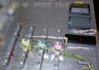 Щит учёта 380В с трансформаторами тока без вводного автомата, сборка